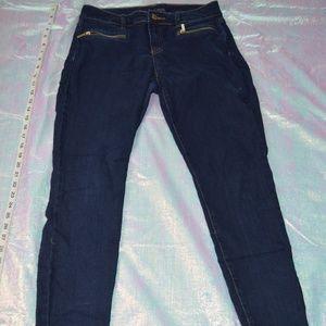 Michael Kors Skinny Zipper Pocket Jeans size 4
